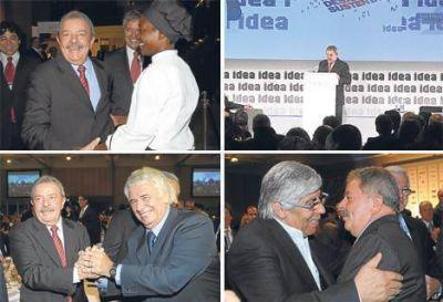 """Lula, el """"invitado-crítica"""" que cautivó a todos en la Feliz"""