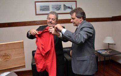 Lula Da Silva fue distinguido como visitante ilustre de Mar del Plata