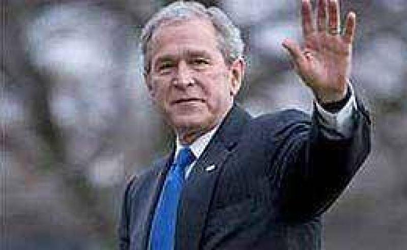 Bush da su apoyo a Obama: