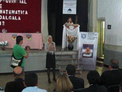 La ministra Acosta participó del 1º Congreso Nacional de Matemáticas