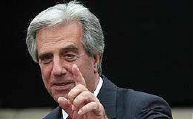 Tabaré Vázquez reiteró que no acompañará a Kirchner en su postulación a la Unasur