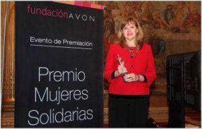 Premio Nacional Mujeres Solidarias de Fundación Avon para una chaqueña