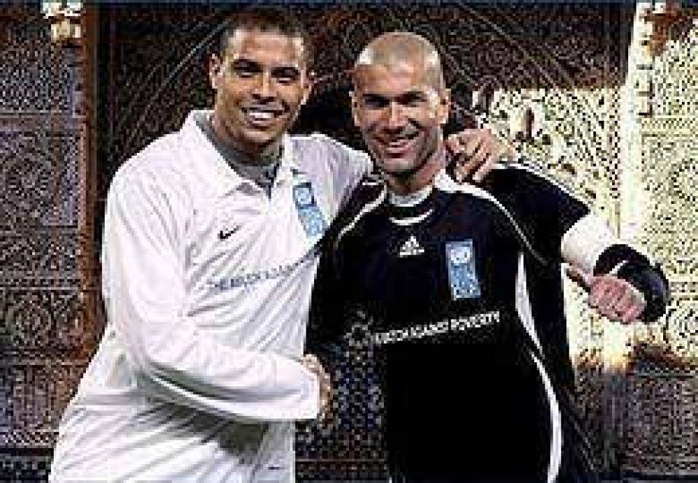 Corinthians sueña con juntar a Ronaldo y Zidane.