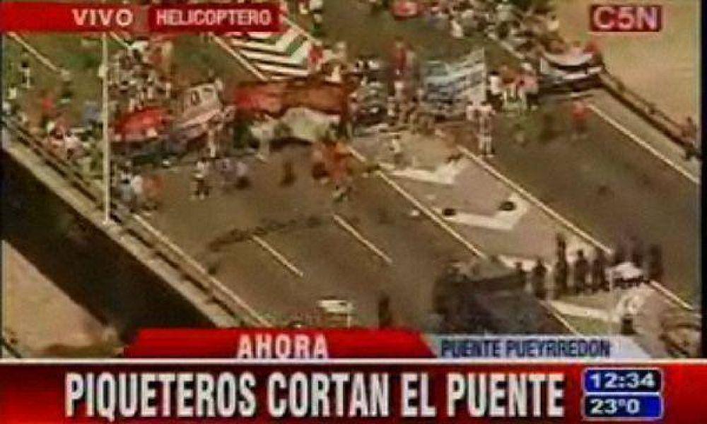 Caos y demoras en la Ciudad por varias protestas y cortes