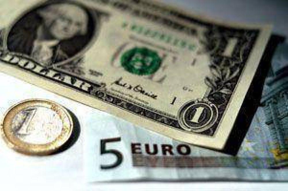El euro ya tocó los $ 5 en la city