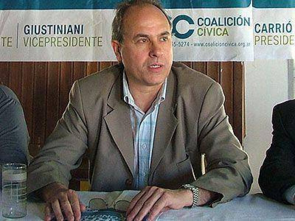 ECHEVERRÍA | ELECCIONES    Bosque quiere ser diputado nacional
