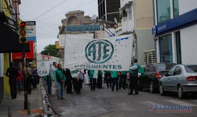 Con participación de referentes del interior ATE marchará hoy a Casa de Gobierno