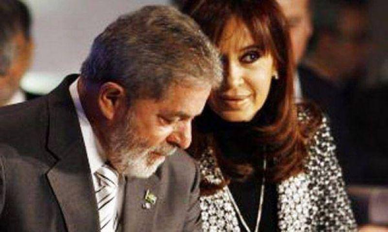 La mandataria argentina se reunir� con Luiz In�cio Lula Da Silva