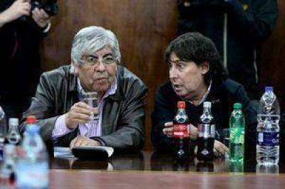 Moyano y Micheli repudian frente al Congreso la nueva ley de ART