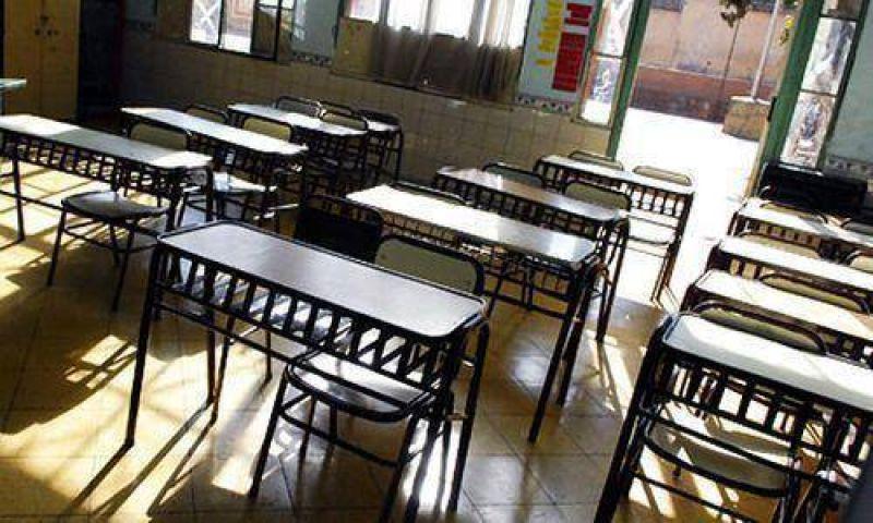 Los docentes chaque�os concretan un nuevo paro.