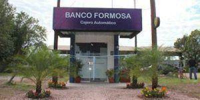 Banco Formosa sigue inaugurando cajeros automáticos