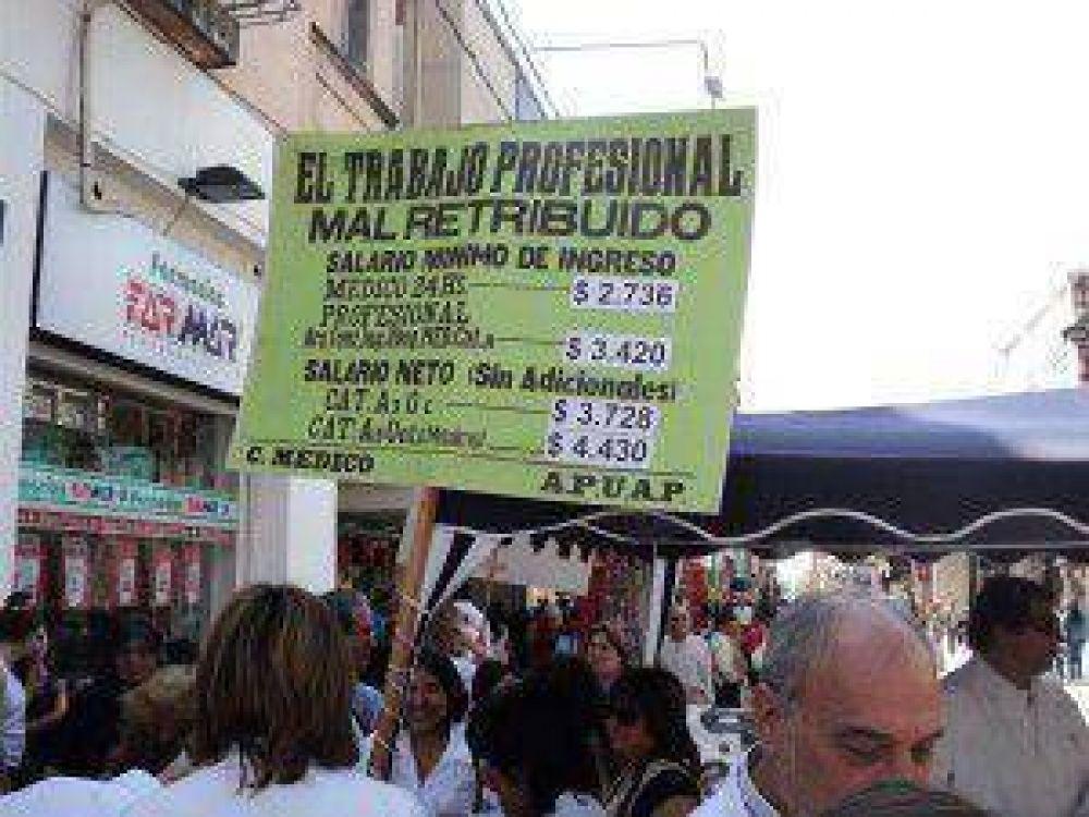 """Para los Profesionales de Jujuy, el gobierno de Fellner """"no está buscando soluciones, está buscando patear las cosas para adelante"""""""