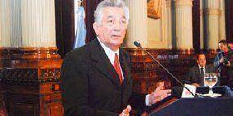 Rodríguez Saá disertará en EE.UU en un foro al que irán Bill Gates y Clinton.