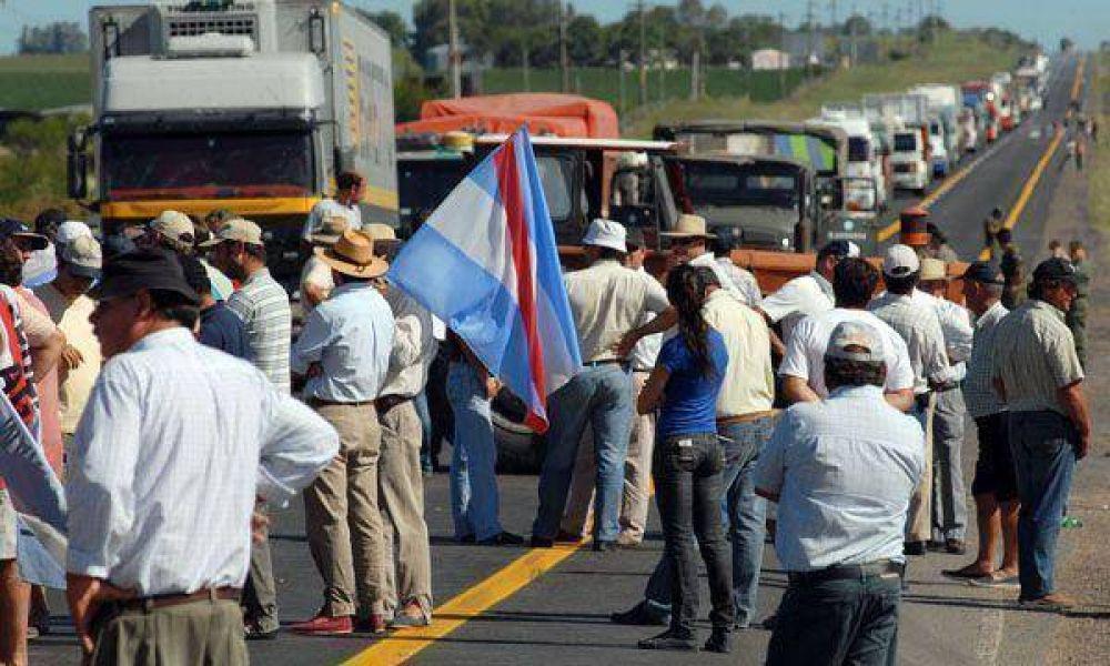 El Gobierno confirma 68 protestas de ruralistas en las rutas y dice que no reprimirá