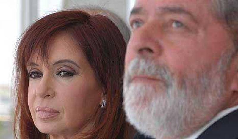 Cristina est� reunida con Lula para hacer las paces