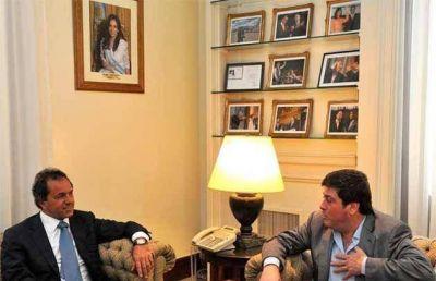 Scioli y Mariotto sellaron el acuerdo institucional para aprobar un extenso paquete legislativo