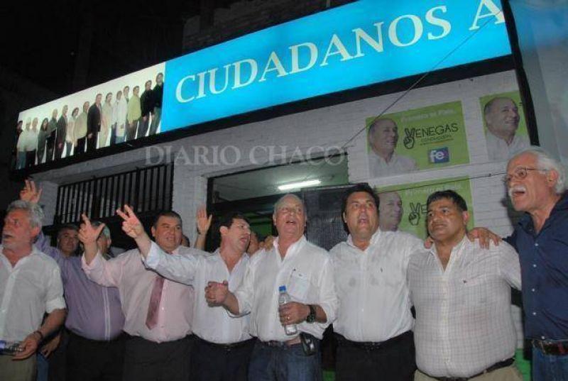 Venegas visitó Resistencia para inaugurar el local partidario de Ciudadanos a Gobernar