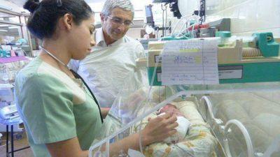 Exitosa operación de una beba de 800 gramos en el San Roque