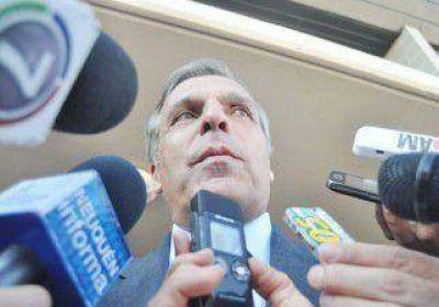Sapag aseguró que nunca se habló de juicio político
