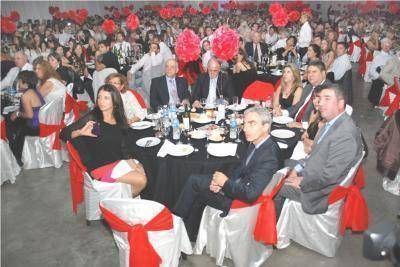 Con una cena de gala culminaron los festejos por el centenario