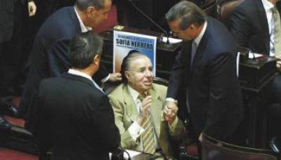 El oficialismo impuso su mayoría y le dio media sanción al 'per saltum'