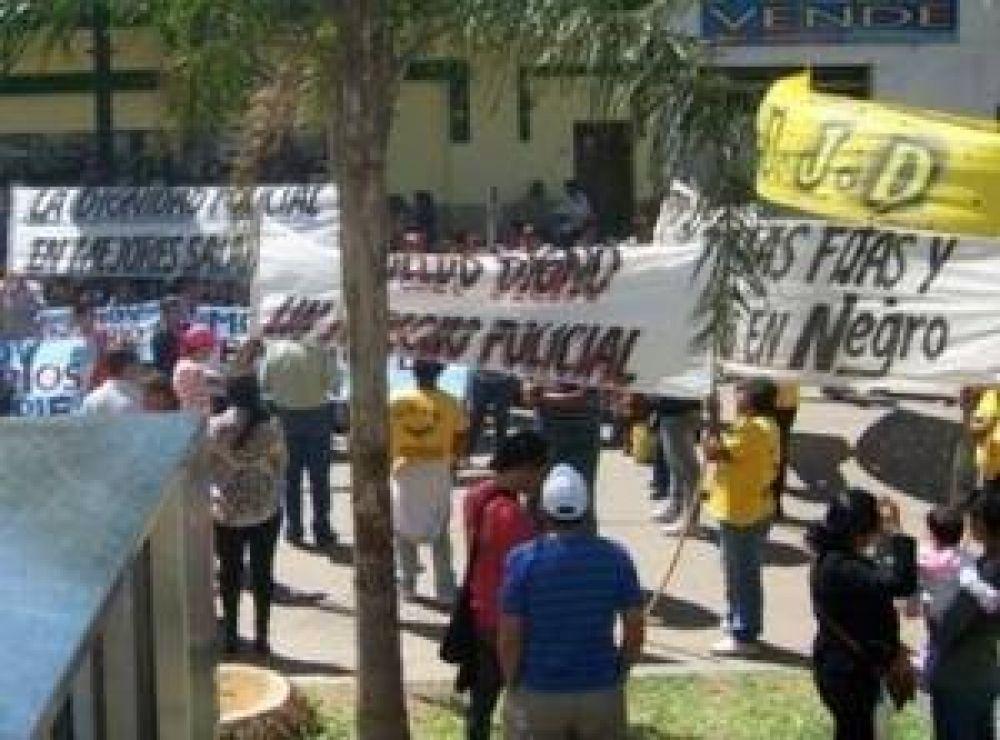 Sindicatos y Policías Autoconvocados de Sáenz Peña conformaron una Multisectorial
