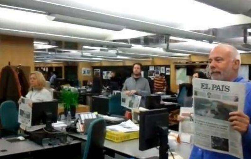 Periodistas de El País decidieron una huelga de tres días