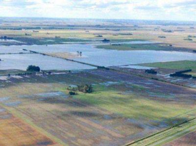 Cinco localidades del departamento Caseros, en peligro por el posible desborde de un canal