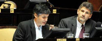 """Martello rechazó el presupuesto 2013 y dijo que no serán """"cómplices del ajuste"""""""