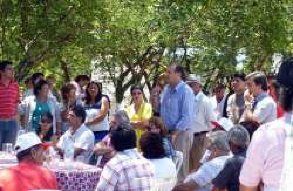 Importante encuentro de dirigentes de Convergencia Social en Fontana