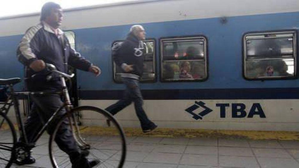 Levantan el paro en el tren Sarmiento