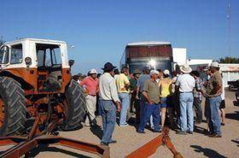 Se acent�a la protesta del agro
