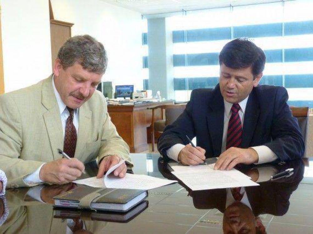 Estación de Interconexión Regional: firmaron un convenio para la prevención y control en la seguridad