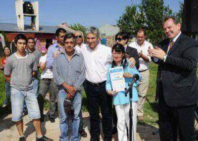 Plan Solidaridad: El Gobierno entregó viviendas de inclusión en la ciudad de San Luis
