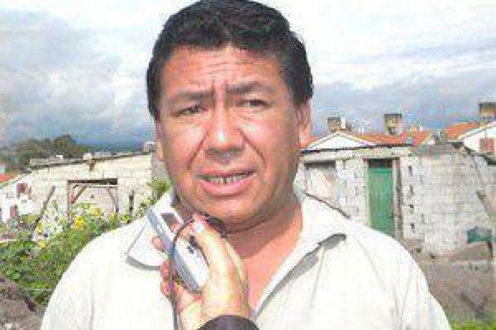 Barrios habló de la falta de diálogo con Ministerio de Tierra y denunció venta irregular de lotes