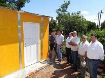 Giraud y Garay supervisaron reconstrucción de viviendas