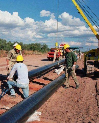 San Luis Agua inicia obras en el paraje El Recodo
