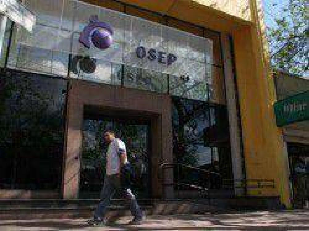 Paro de trabajadores de la OSEP y del Hospital Español