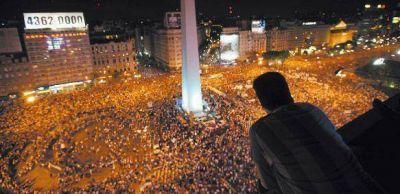 Masiva protesta opositora en las principales ciudades del pa�s