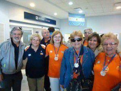 Adultos mayores del Hogar de Día regresaron de los Juegos Evita