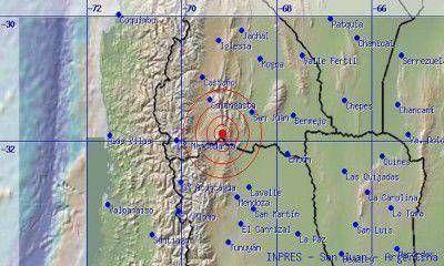 El temblor que se sintió en Mendoza fue en límite con San Juan