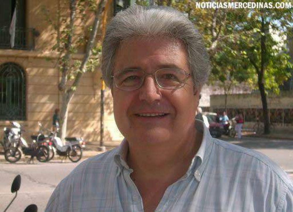 """El """"Vasco"""" Gorosterrazú apoya a Felipe Solá"""