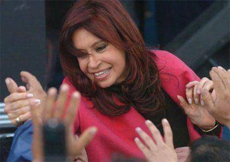 La presidenta Cristina Fernández visitará San Fernando