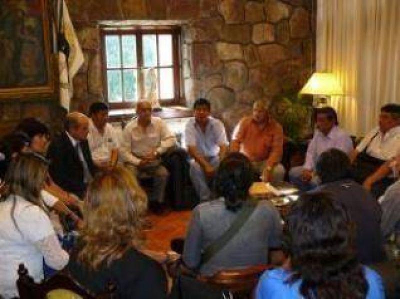Los retirados de las Fuerzas de Seguridad de Jujuy se reunieron con el Vicegobernador.