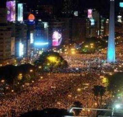 8N. La marcha anti K también fue un cachetazo para la oposición