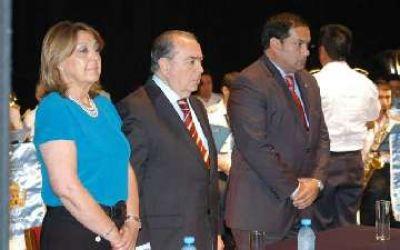 Por primera vez asumieron autoridades del SPF en el interior del país. Fue en Santa Rosa y asistió Jorge