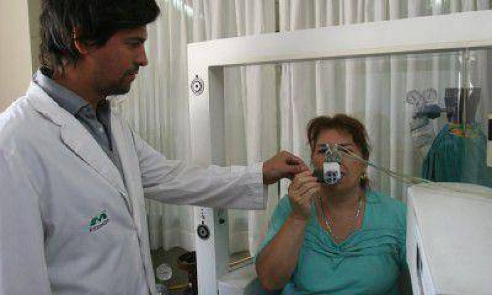 En Mendoza, nueve de cada diez personas con EPOC son fumadores