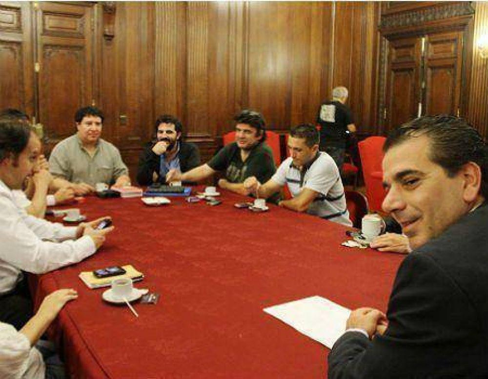 Los metrodelegados, con el PRO en la Legislatura