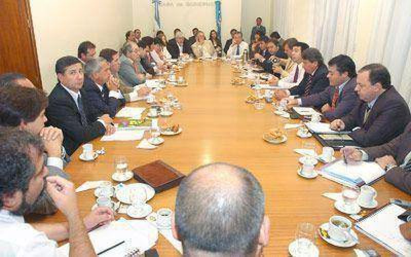 El gabinete provincial examinó la marcha presupuestaria.