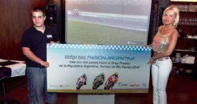 El Moto GP se presentó en Uruguay